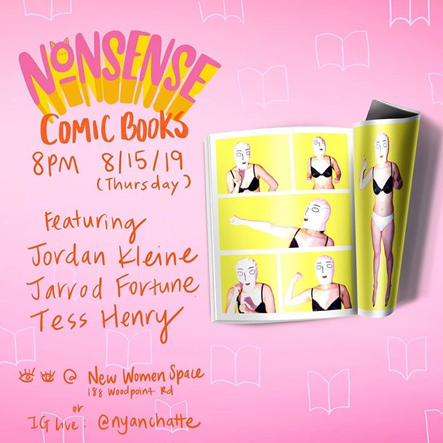 This is going to be a nerdy ass show. We are hype. Featuring @jordankleine, @ey_rod, and @tessdoesinstagram 🙌