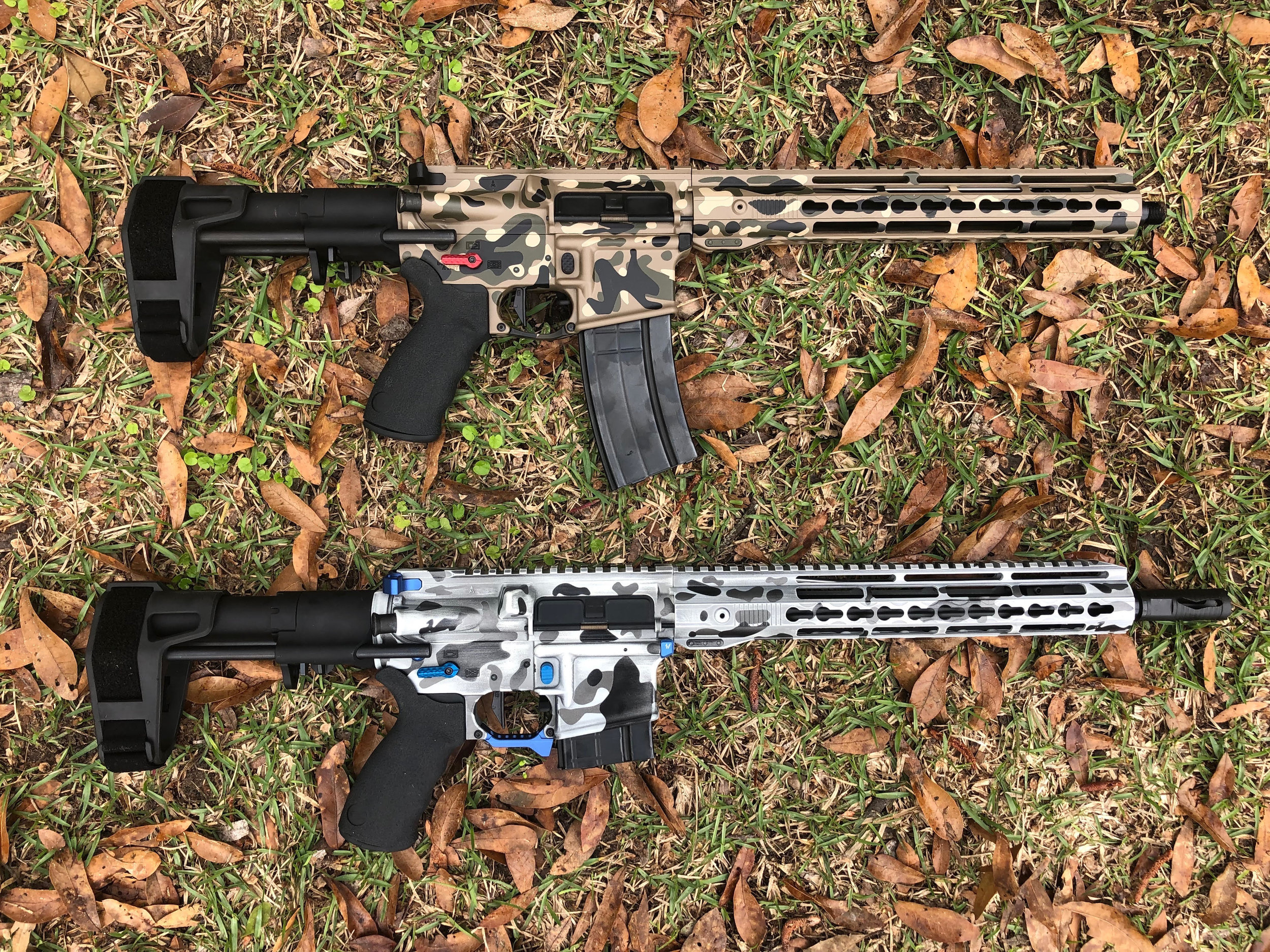 2 AR 15's for one of our repeat customers