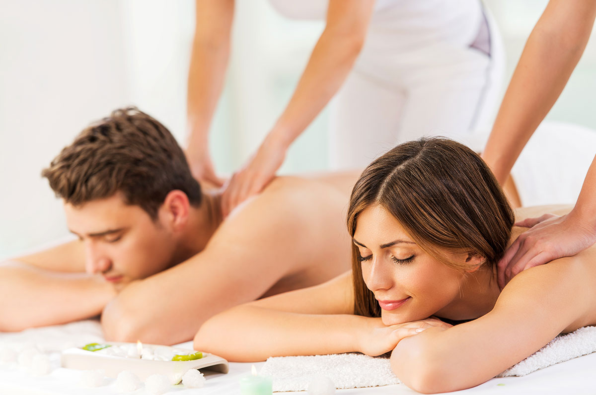 Couples Massage - 60 Minutes $220 | 90 Minutes $298*Add $20 for Cupping or Warm Salt Stone Massage