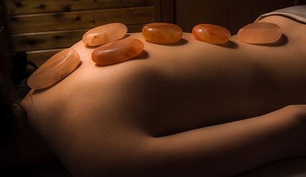 Himalayan Warm Salt Stone Massage - 60 Minutes $120   90 Minutes $159