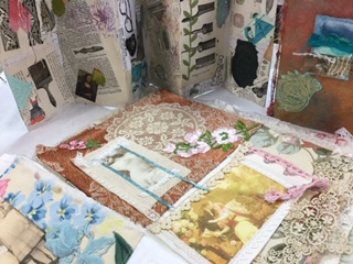 Classes! - Fantasy Fiber Art offers a range of creative classes, including fabric dyeing, sewing, art quilting, and mixed media. No artistic ability required!Check out of classes page for more info.
