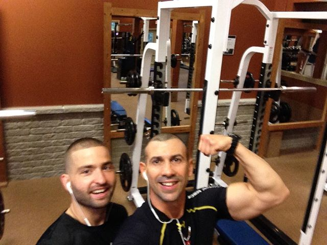 With the Master training in Carleton Place, Canada. Osssxxx #training #canada #lifestyle #student #forever #master #mentor #weights #lifting #healthy