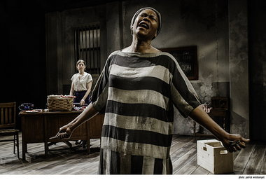 """Chavez Ravine as """"Pearl"""" at Portland Center Stage."""