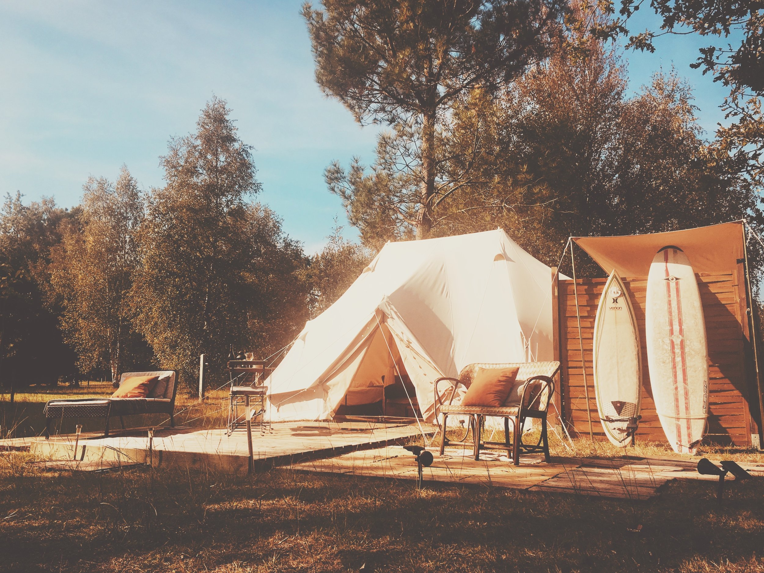 PACKAGE 1 - ULTIMATE EMPEROR BELL TENT - ENSUITE  (32m2/320ft2)
