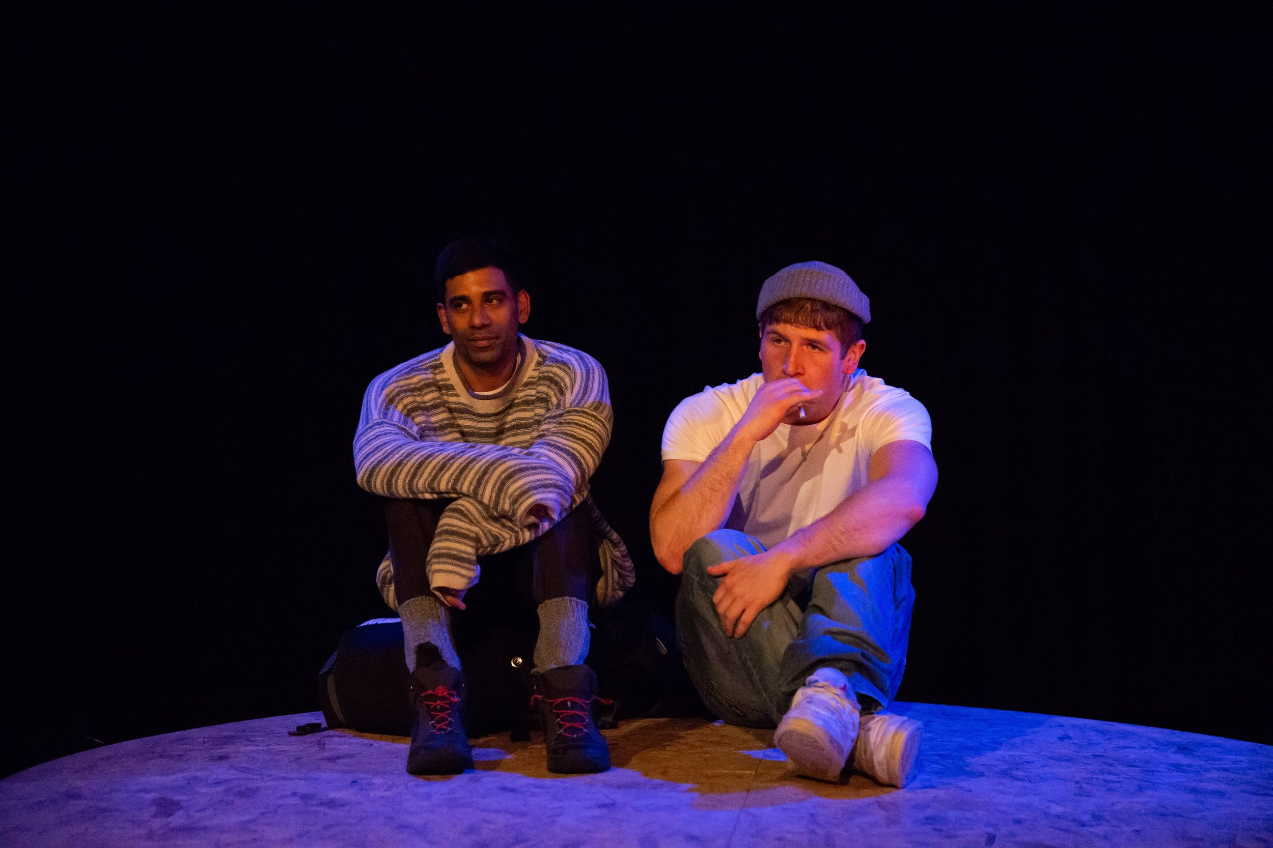 Darren Kuppan and Kyle Rowe in  Under Three Moons  - photos by Alex Mead, Decoy Media