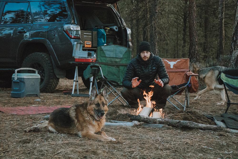 Deschutes National Forest, Bend, Oregon camping