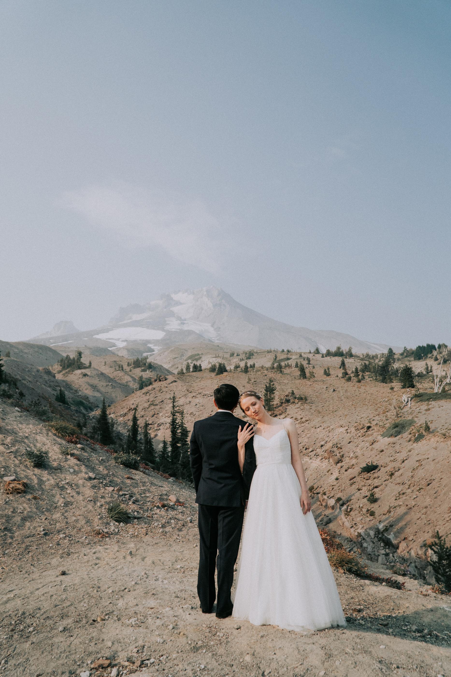 Mt Hood Elopement Wedding Photographer Portland Oregon