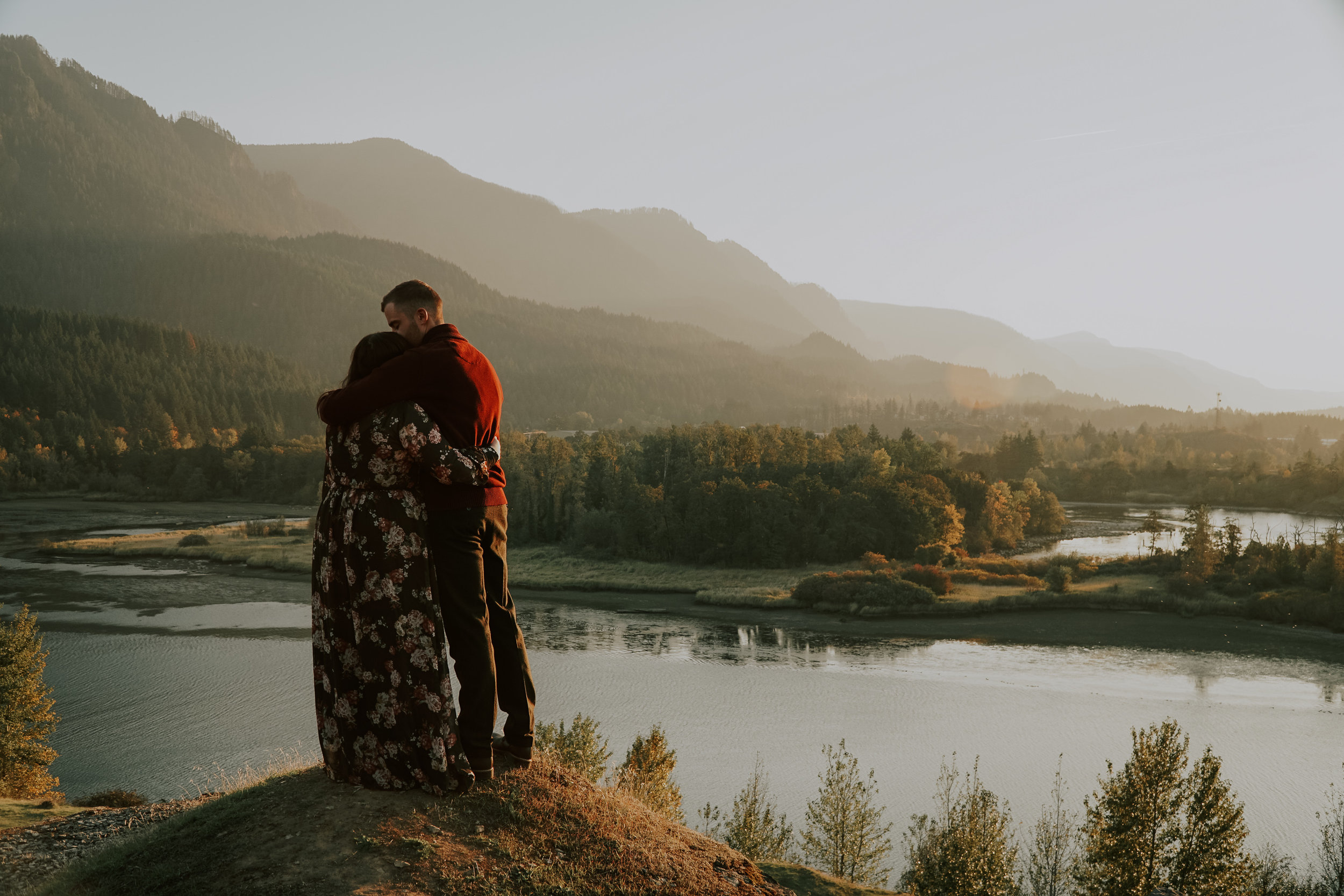 Columbia River Gorge, Oregon Engagement