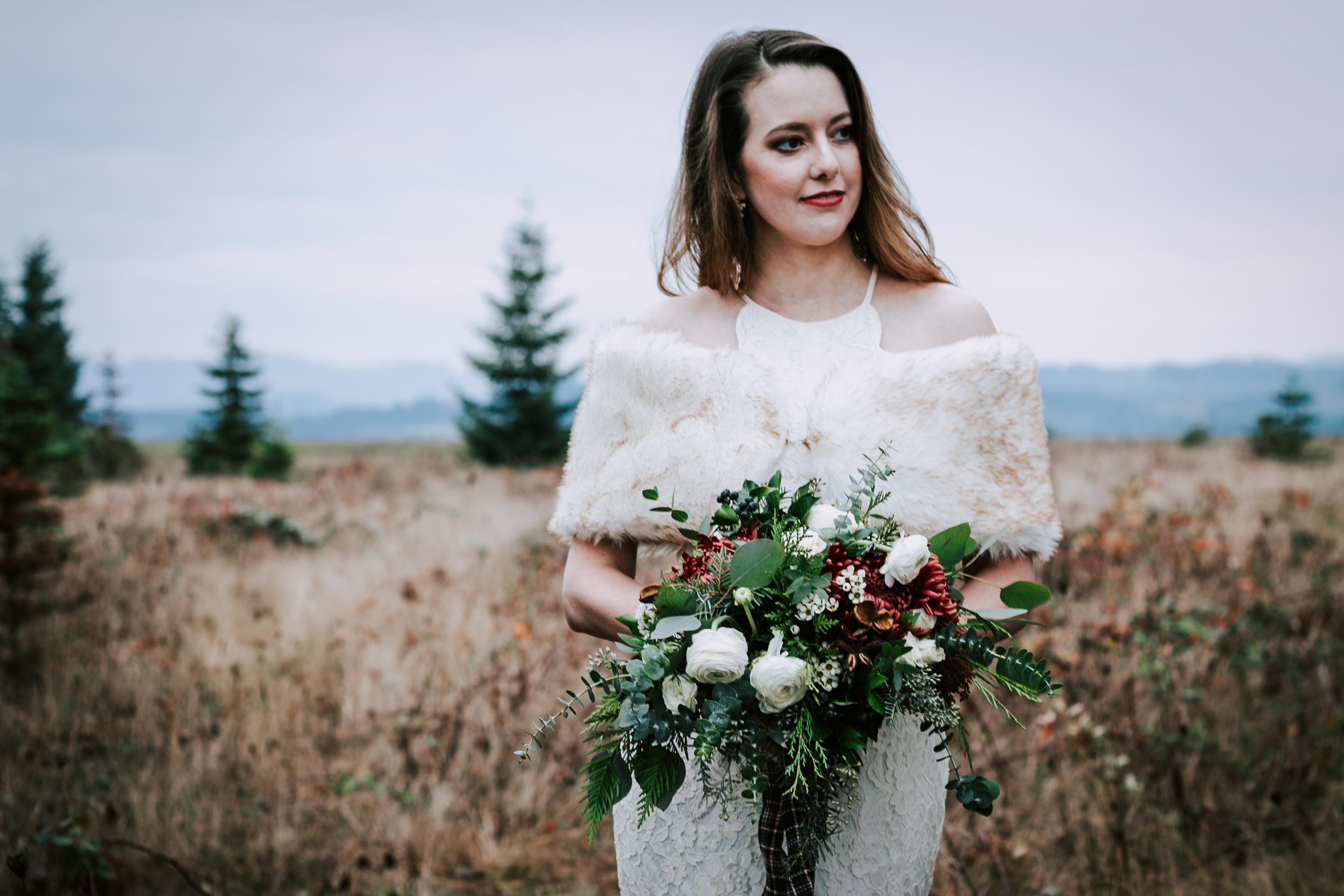 Portland Oregon Tree Farm Wedding Photography 26