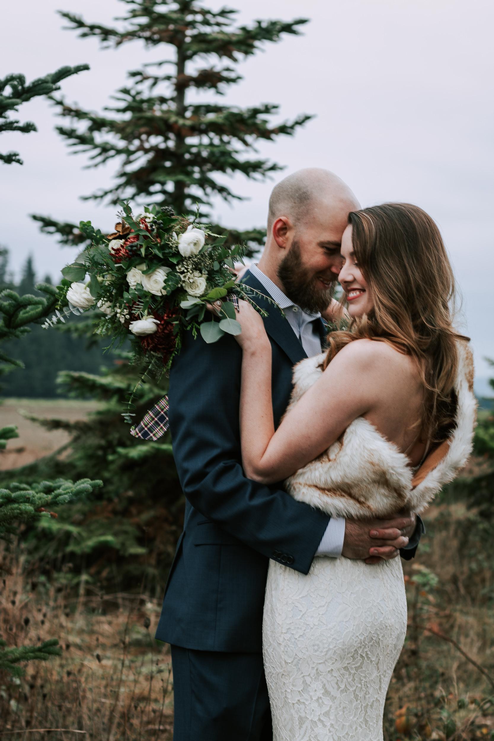 Portland Oregon Tree Farm Wedding Photography 27