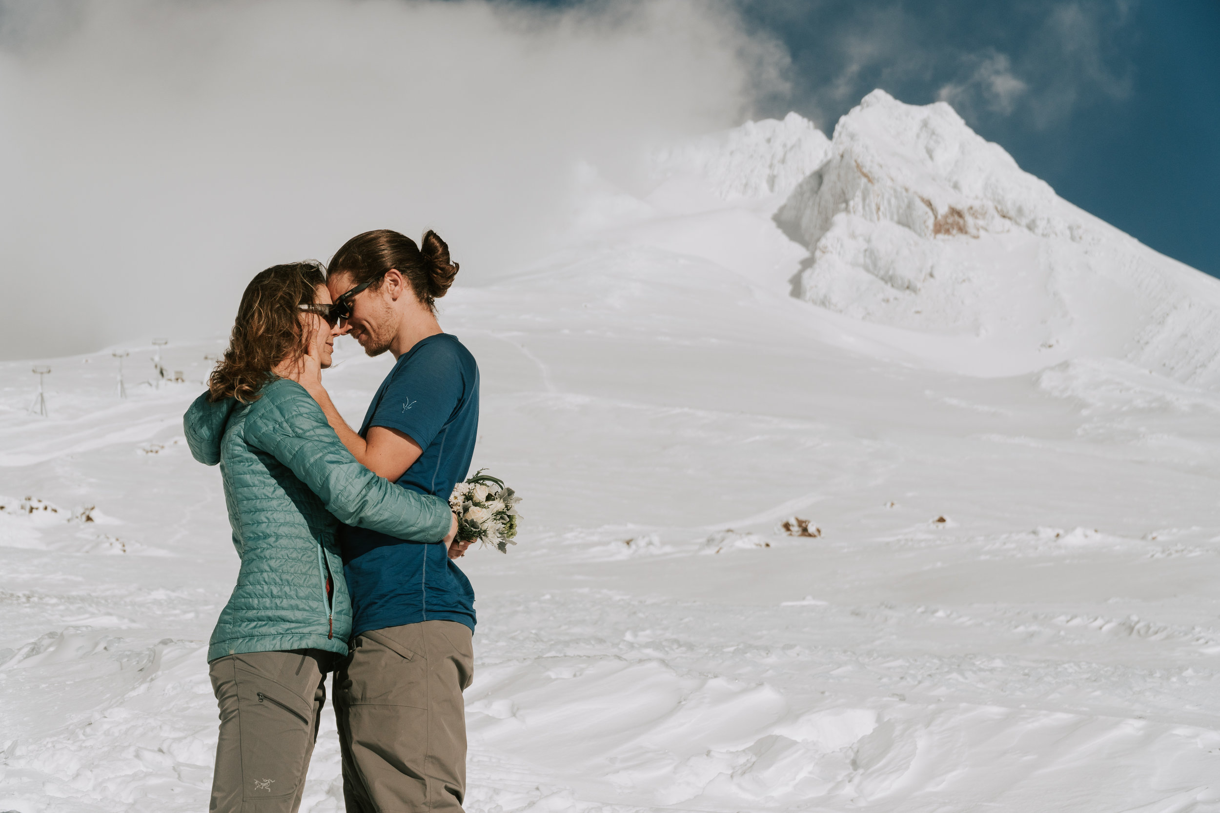 Mt Hood Timberline Lodge Elopement Patti and Ben