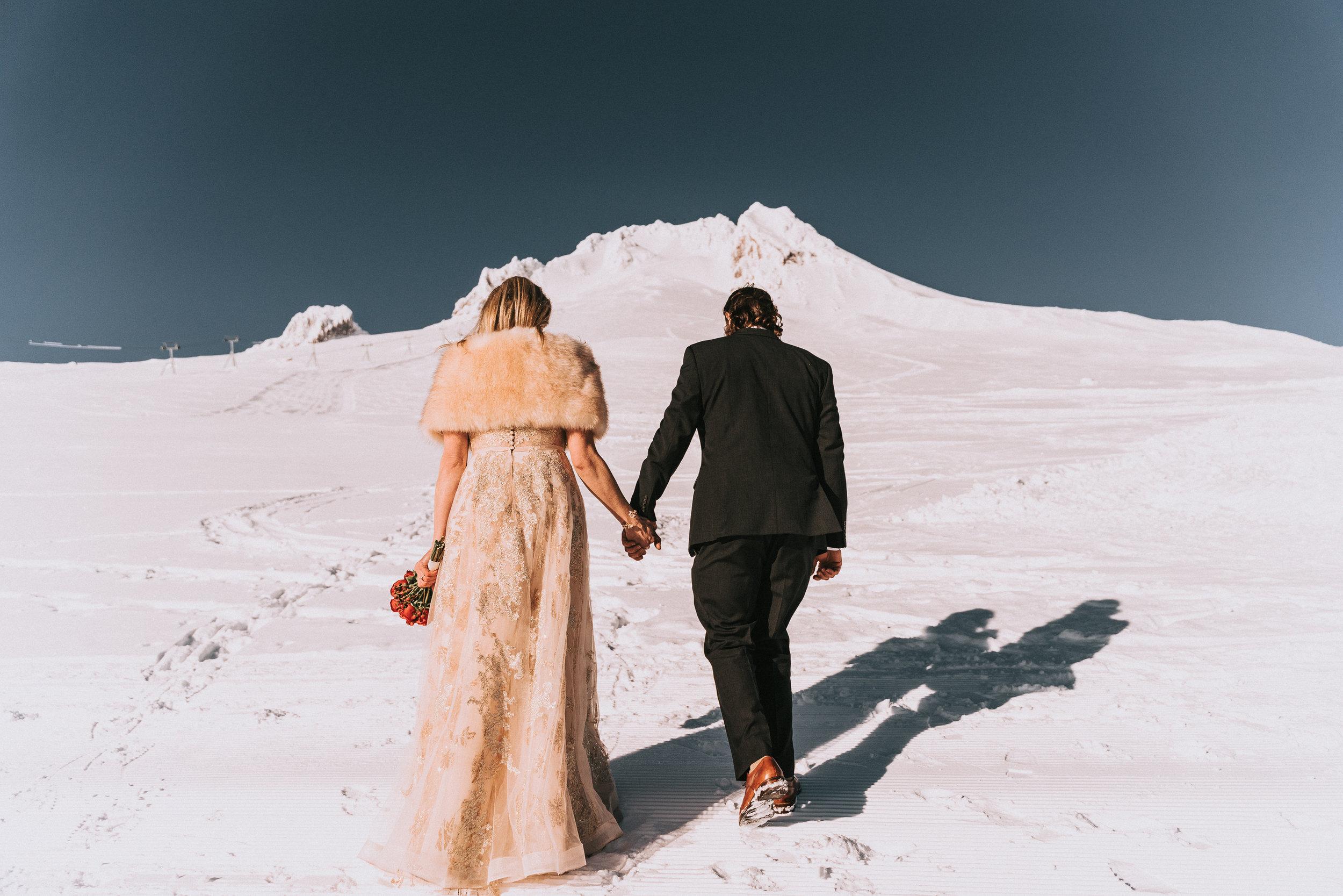 Timberline Lodge Wedding Portland Oregon Mount Hood
