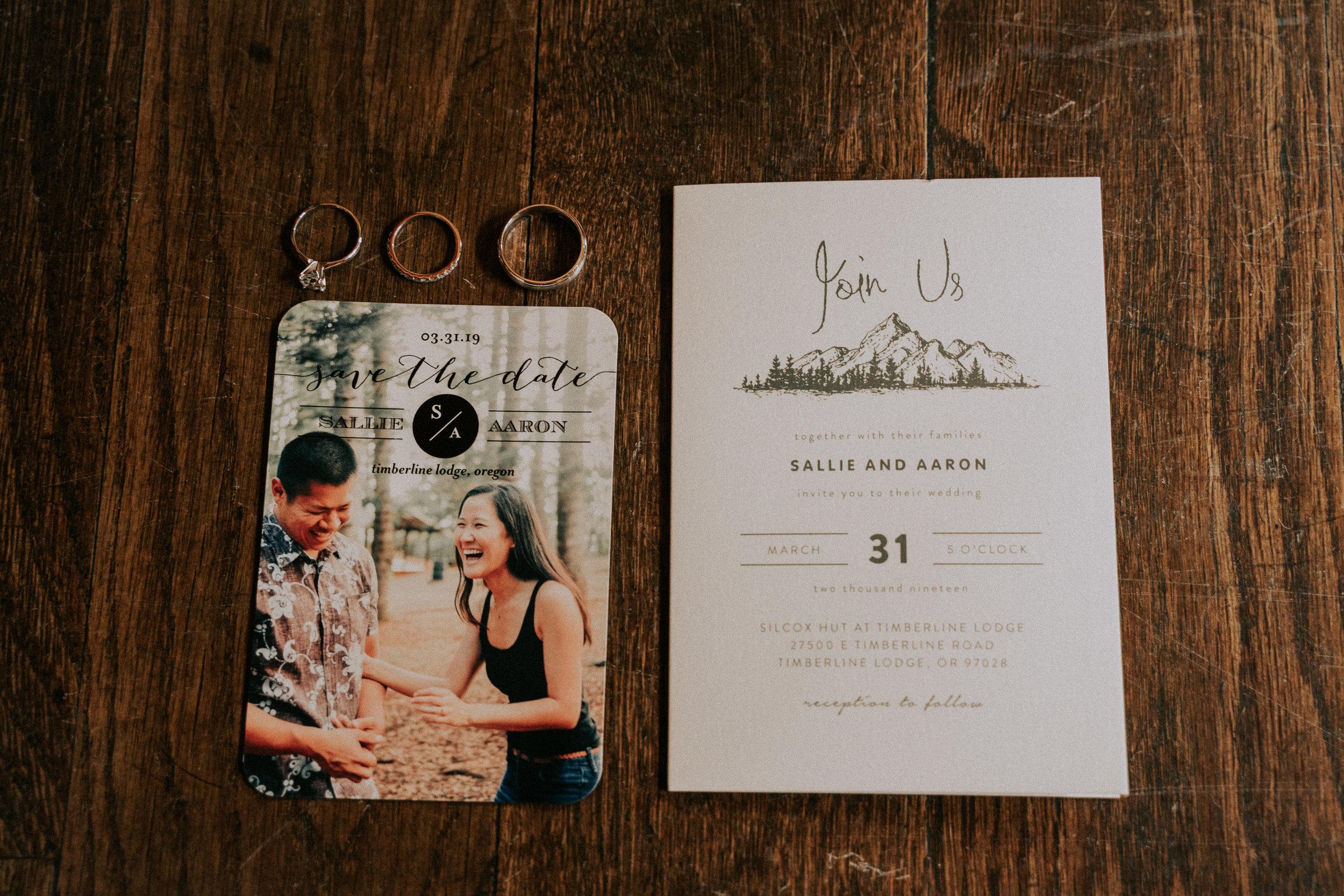 Silcox Hut Wedding Oregon