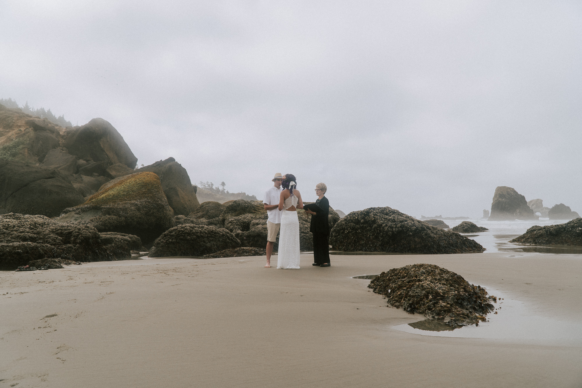 Kenton + Alexis - A Coastal Elopement