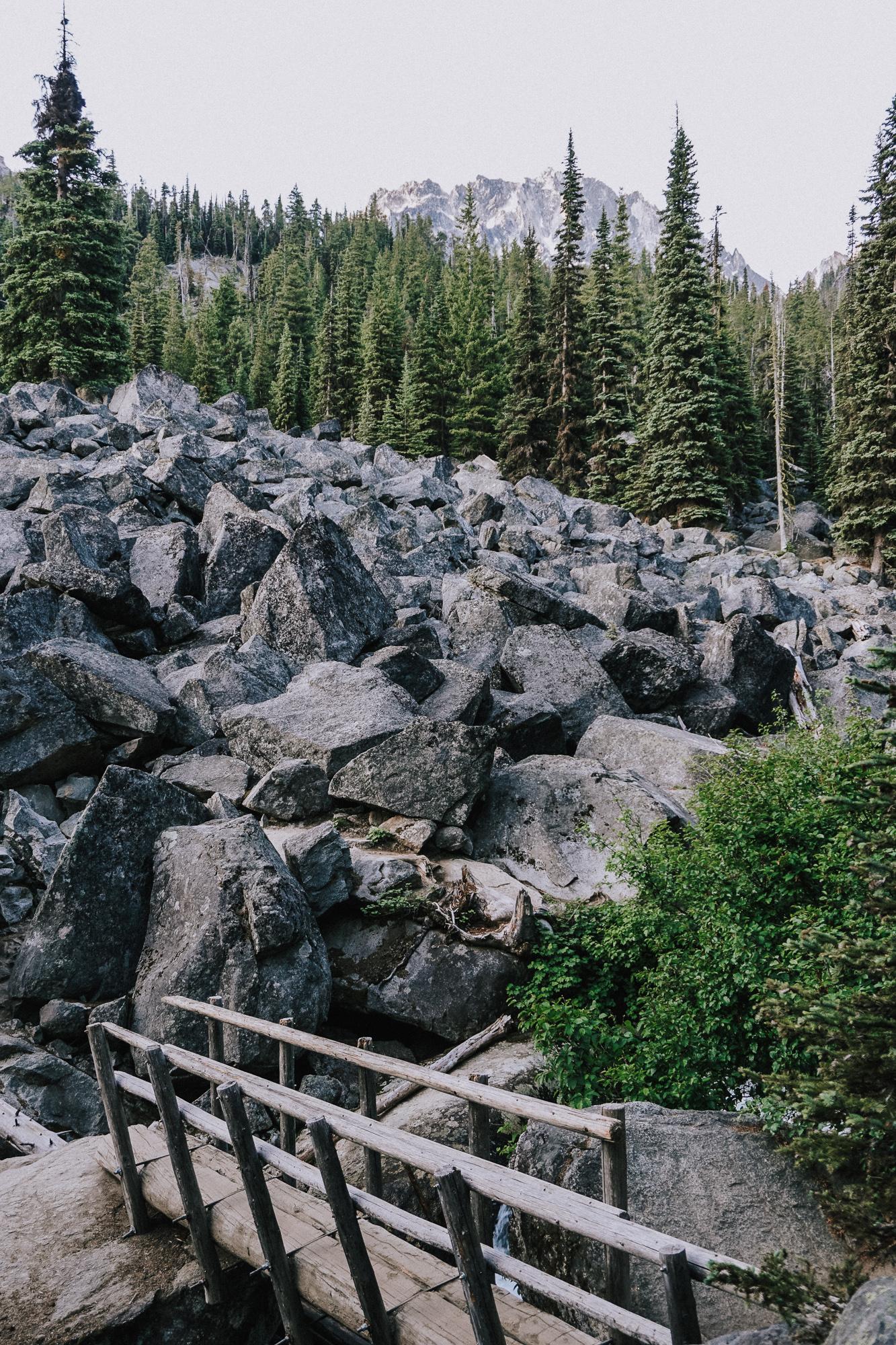 The Enchantments Alpine Lake Wilderness