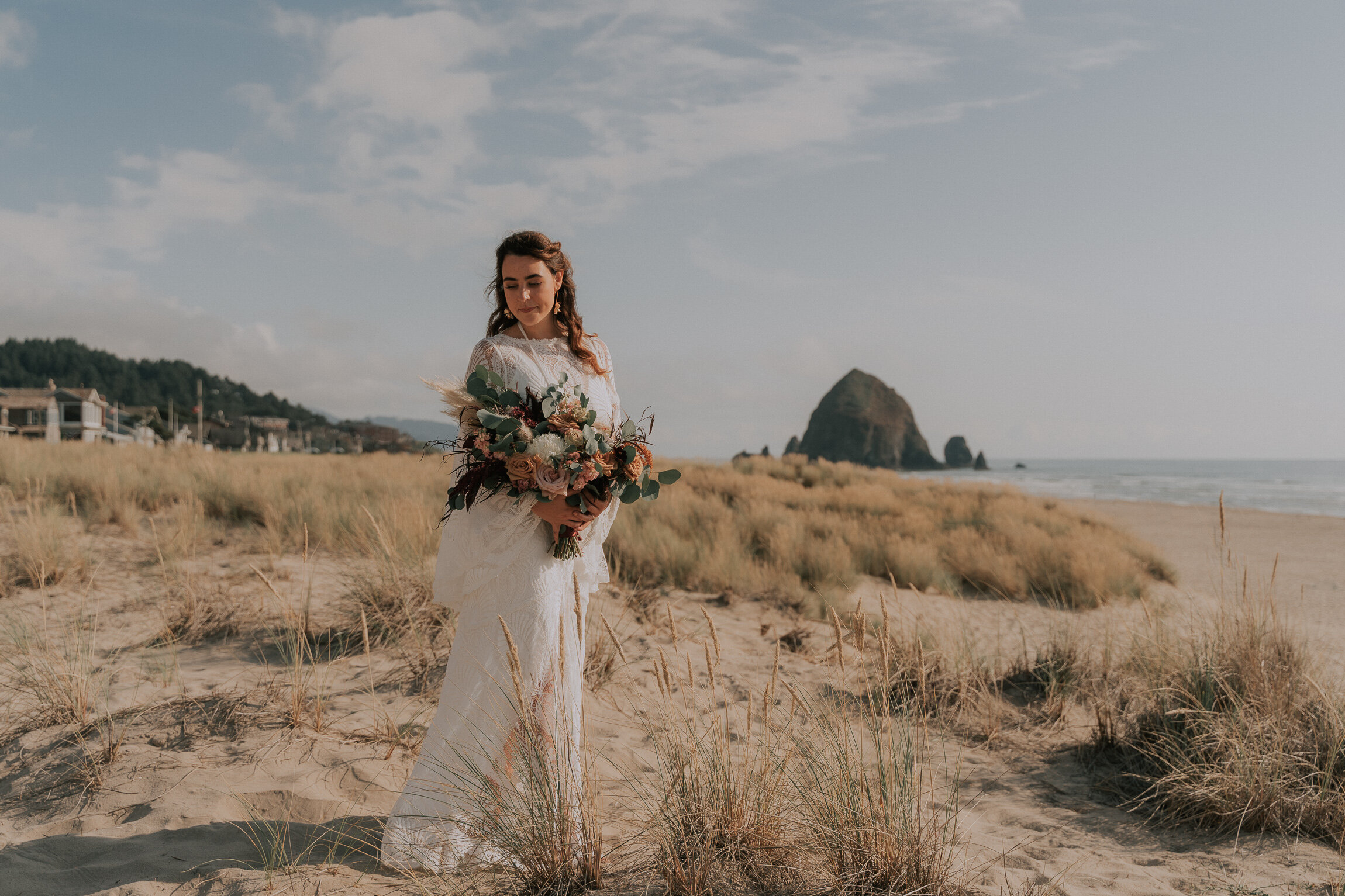 Chelsea + Morgan - A Cannon Beach Wedding