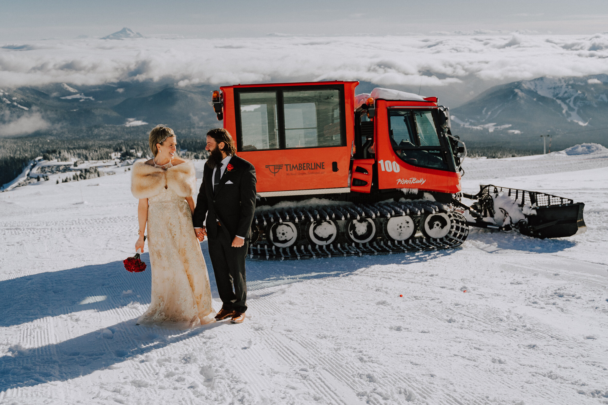 Mt Hood Wedding Timberline Lodge