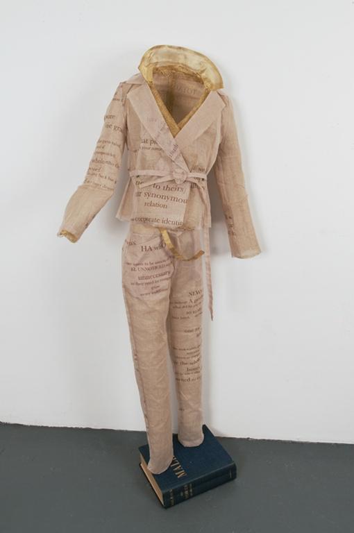 Szymanski_Carol_Cockshut_Offshoots_Bankontes_Suits_2010_Valentino_Cotton_silkscreen_on_silk_and_cotton,_brass_40x18_inches.jpg
