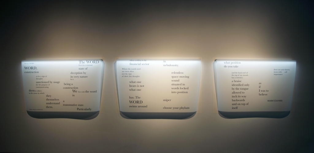 Szymanski_Carol_Guided_by_Invoices_2012_Having_a_Word_(triptych)_Inkjet_on_archival_polyester_film_36x56.5_inches_each.jpg