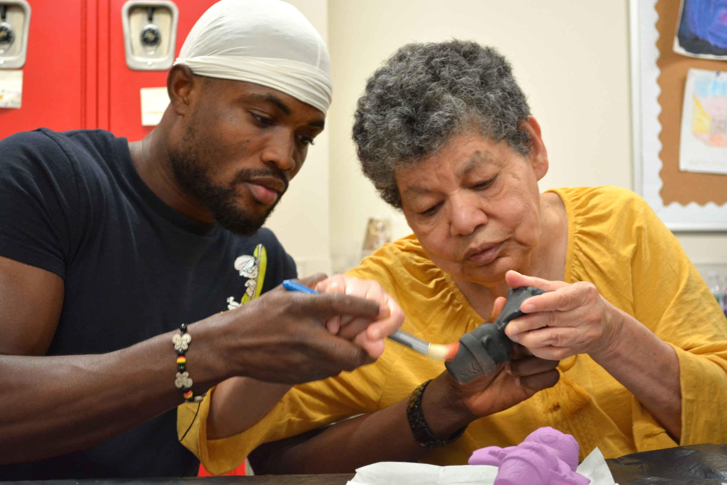 A Ceramics Class at Minute Man Arc