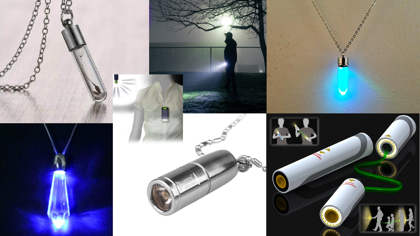 Moodboard for flashlight