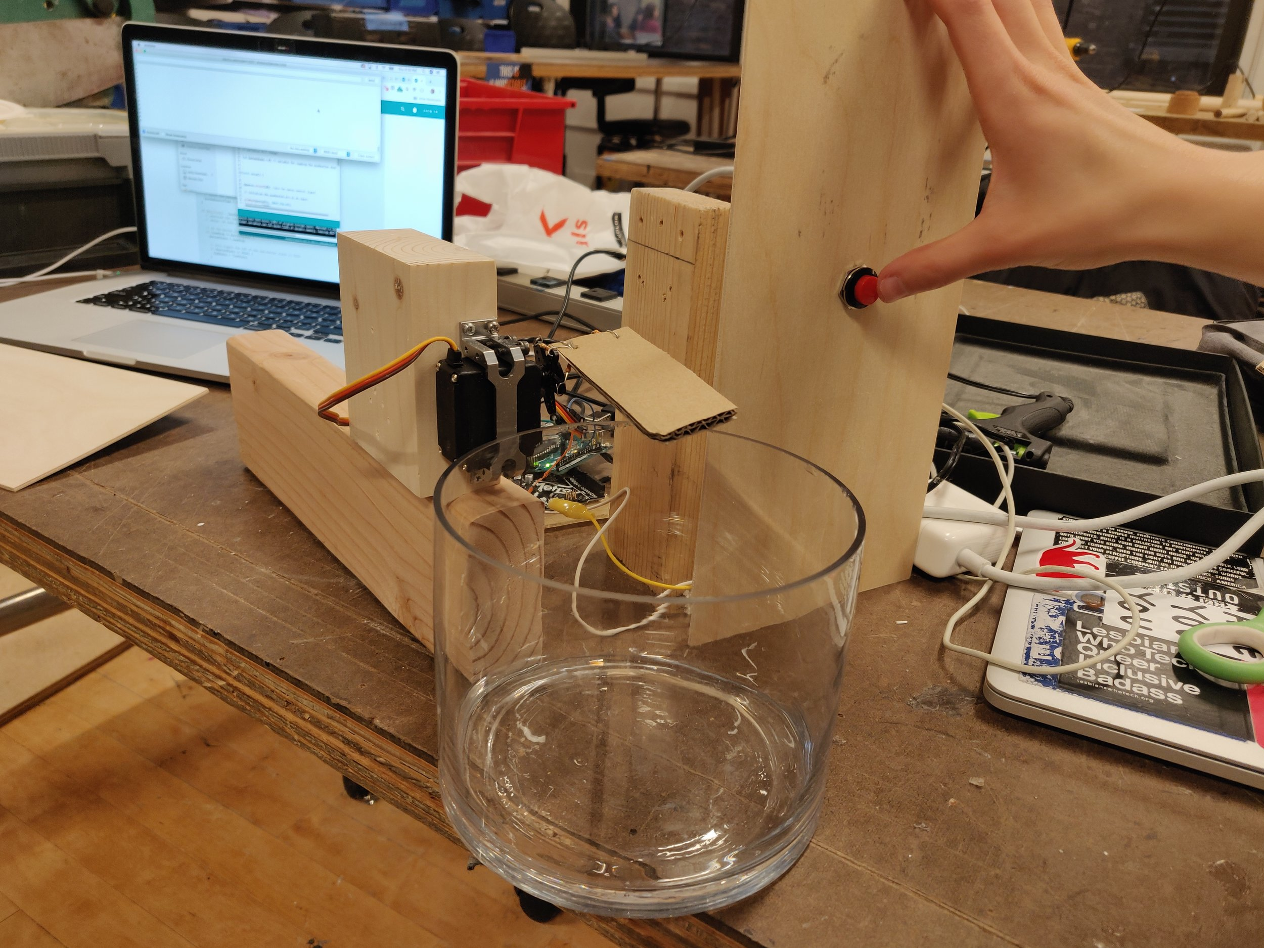 Prototyping and coding the functionalities