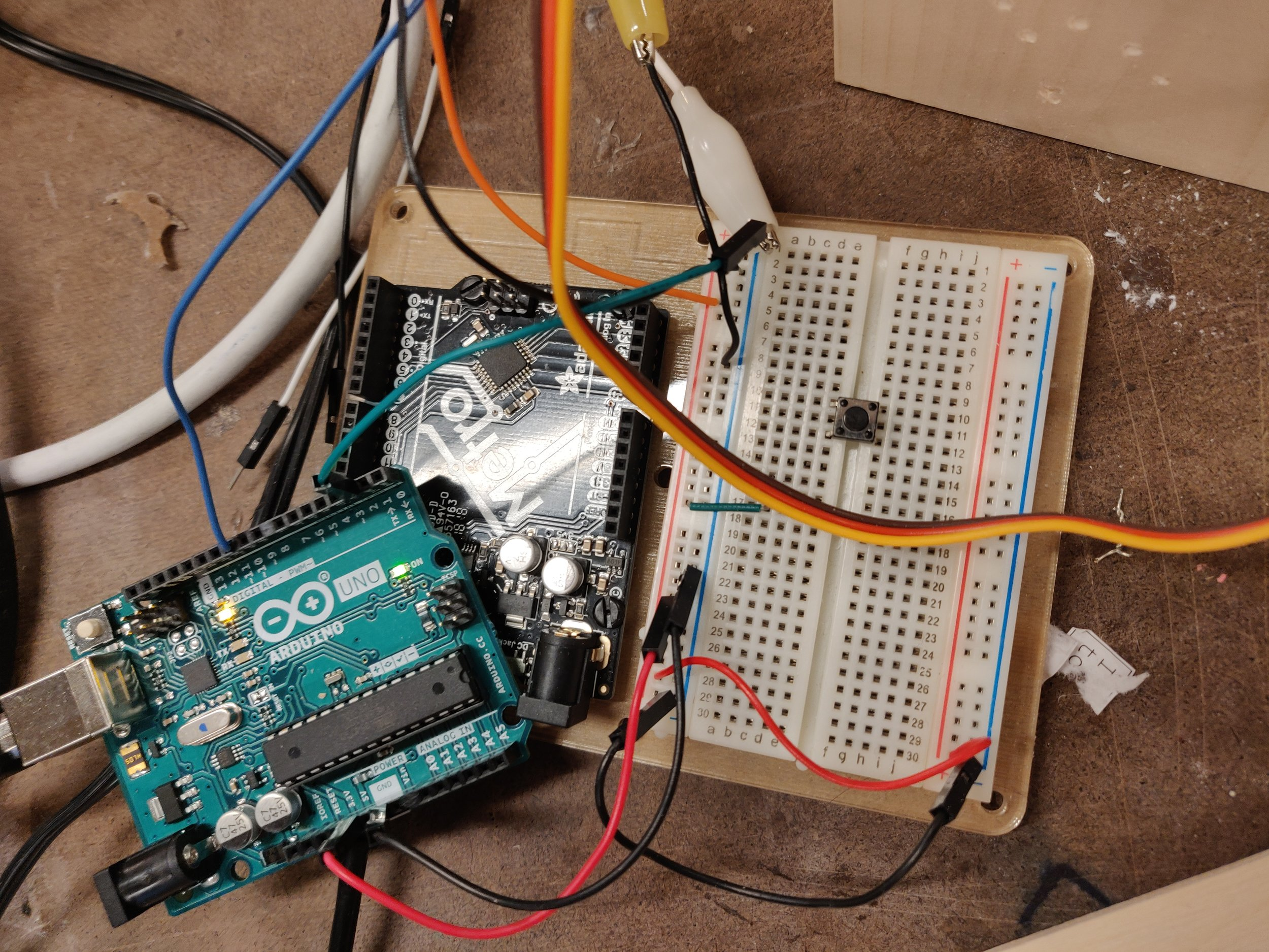 Arduino wiring for prototyping