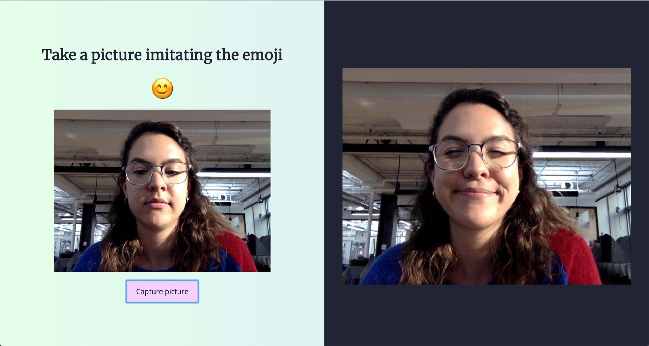 Testing some emoji faces