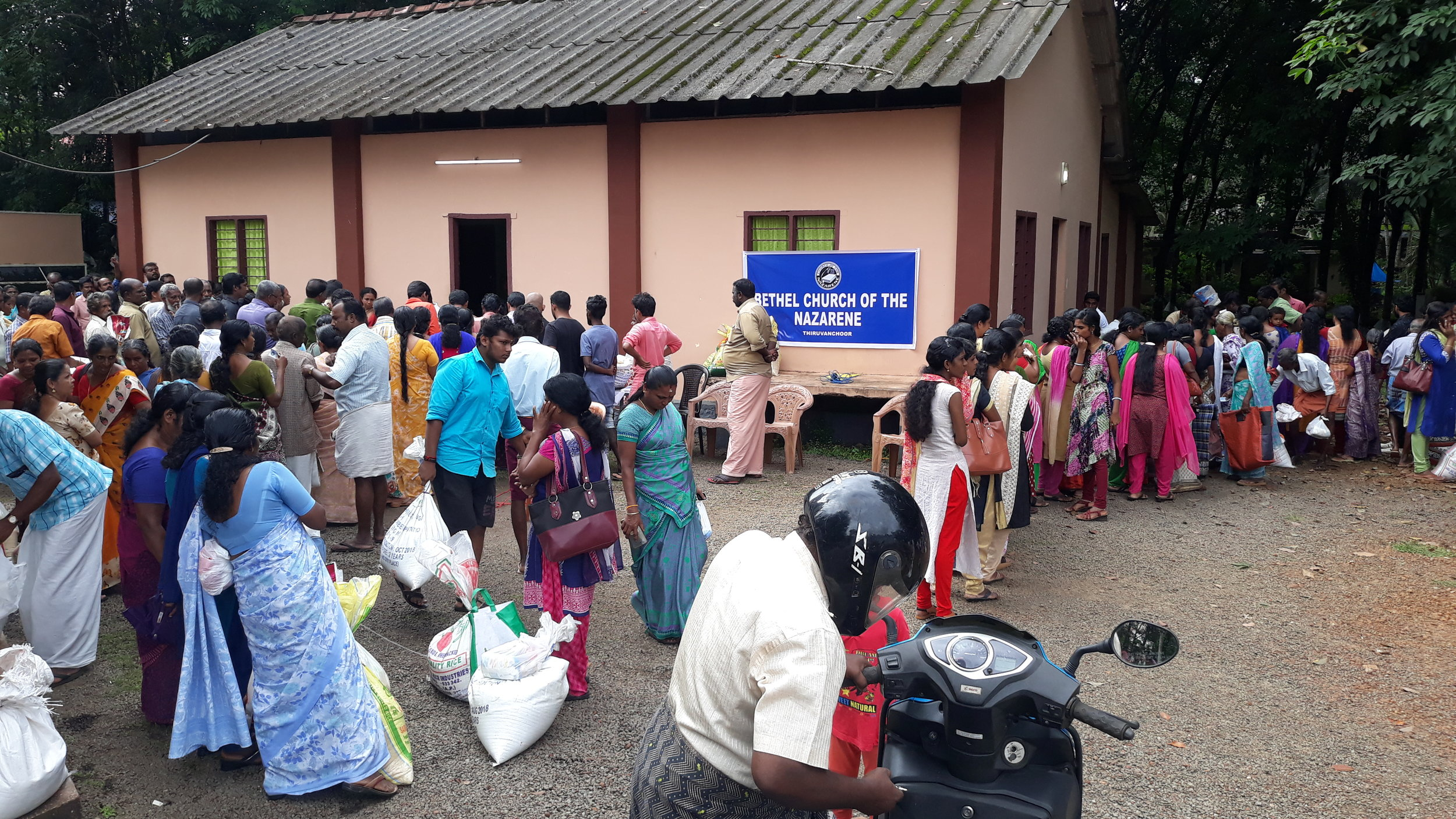Food and supply distribution in India, August 2019