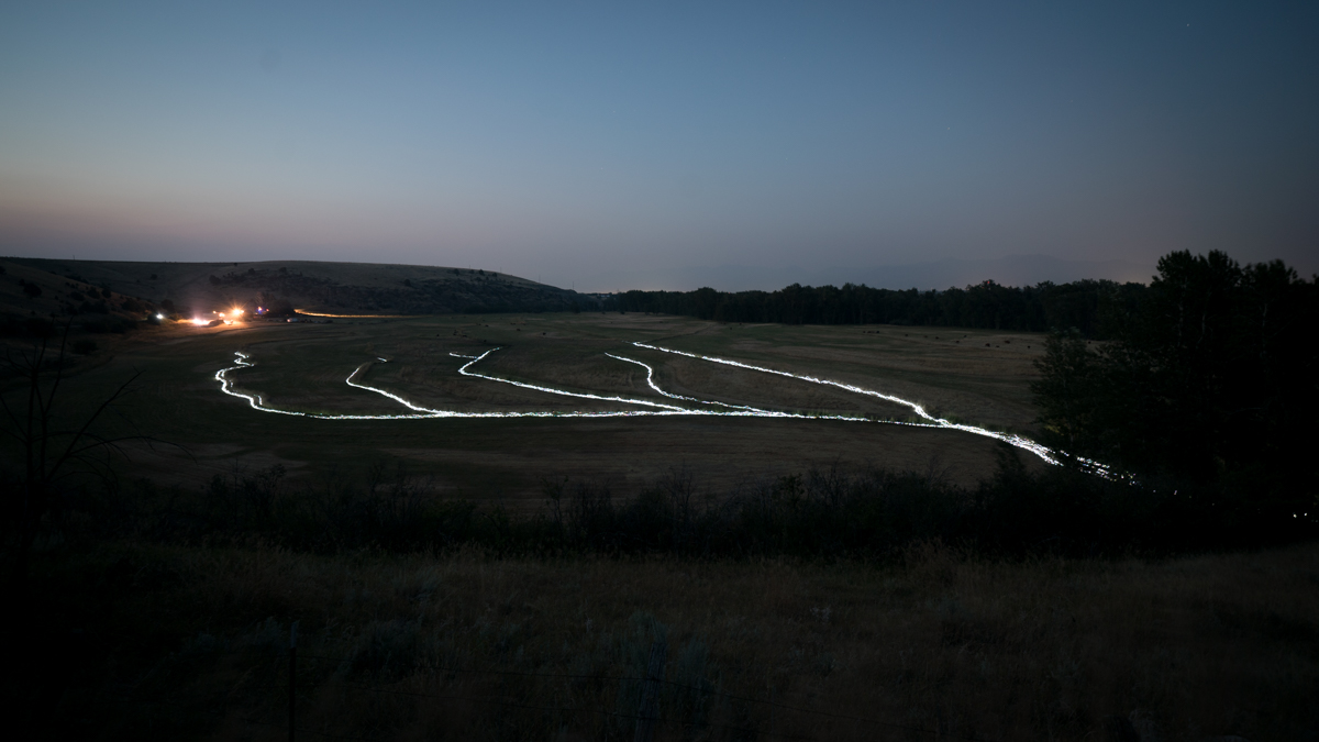 Illumination of Gabriel Canal, Light Installation