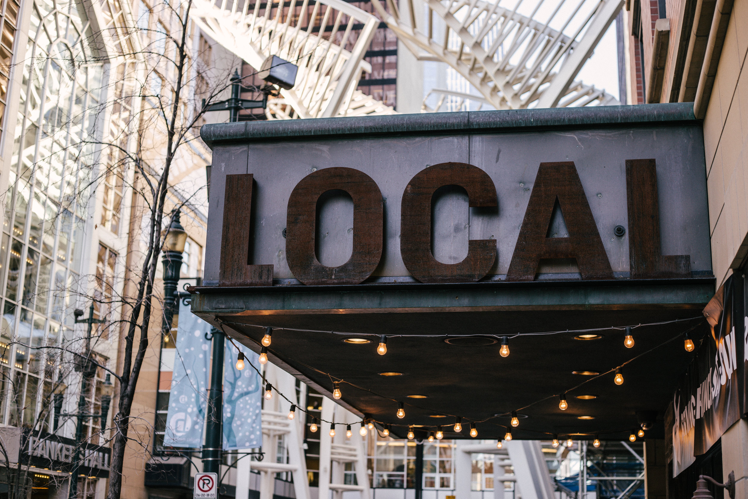 We live in a global market. Why go local?