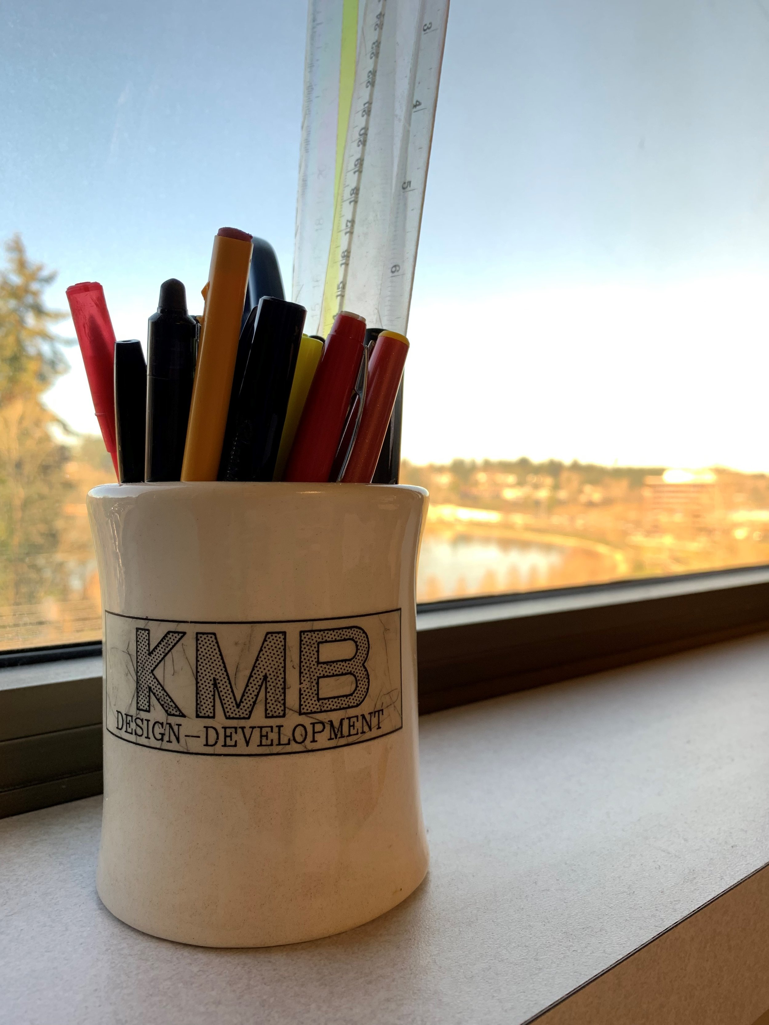 """The """"KMB"""" - is the core of our logo, the stylized element most prominent since the very first design."""