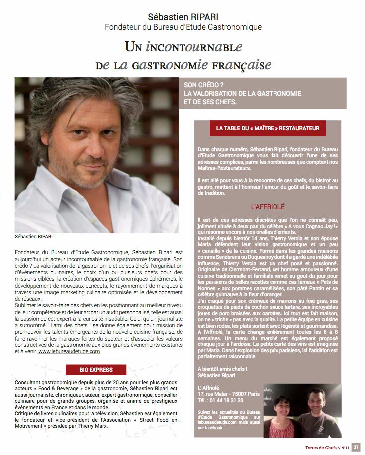 Sébastien Ripari biographie