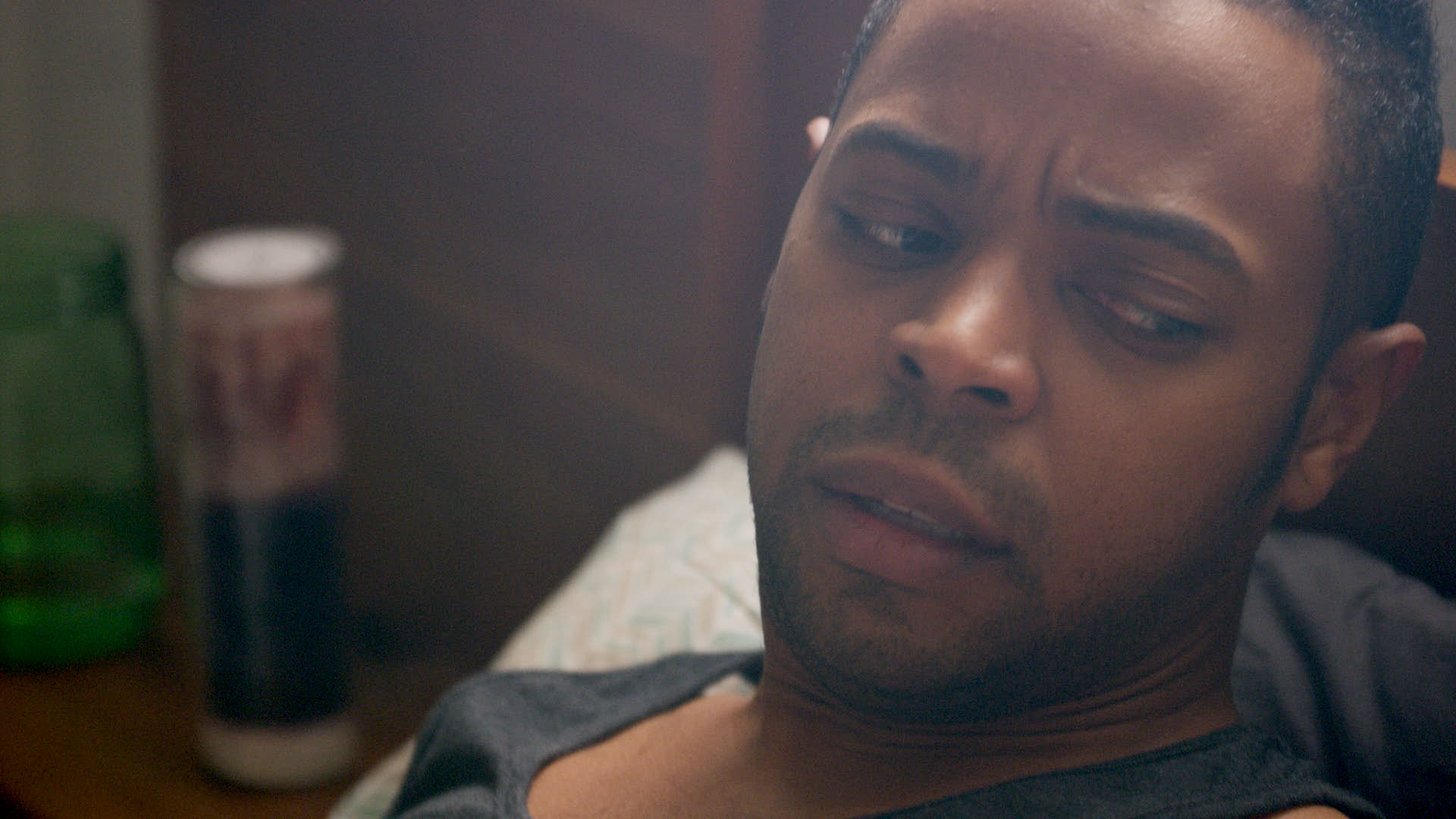 Antoine Perry . Co-star of  Waking Up with Strangers.