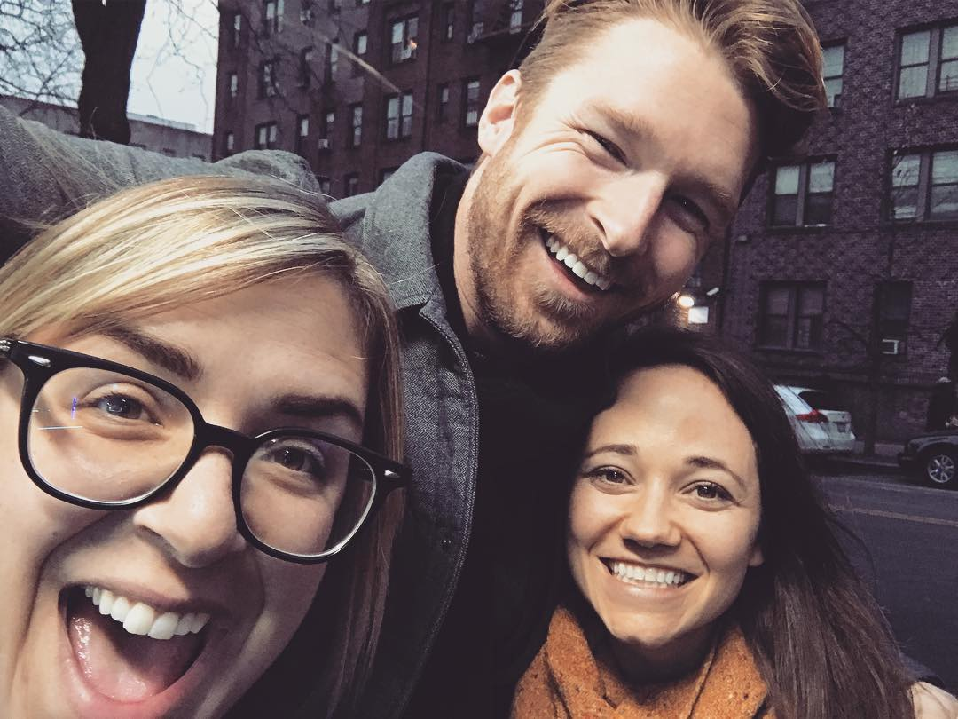 NYC hangs with James and Liz!