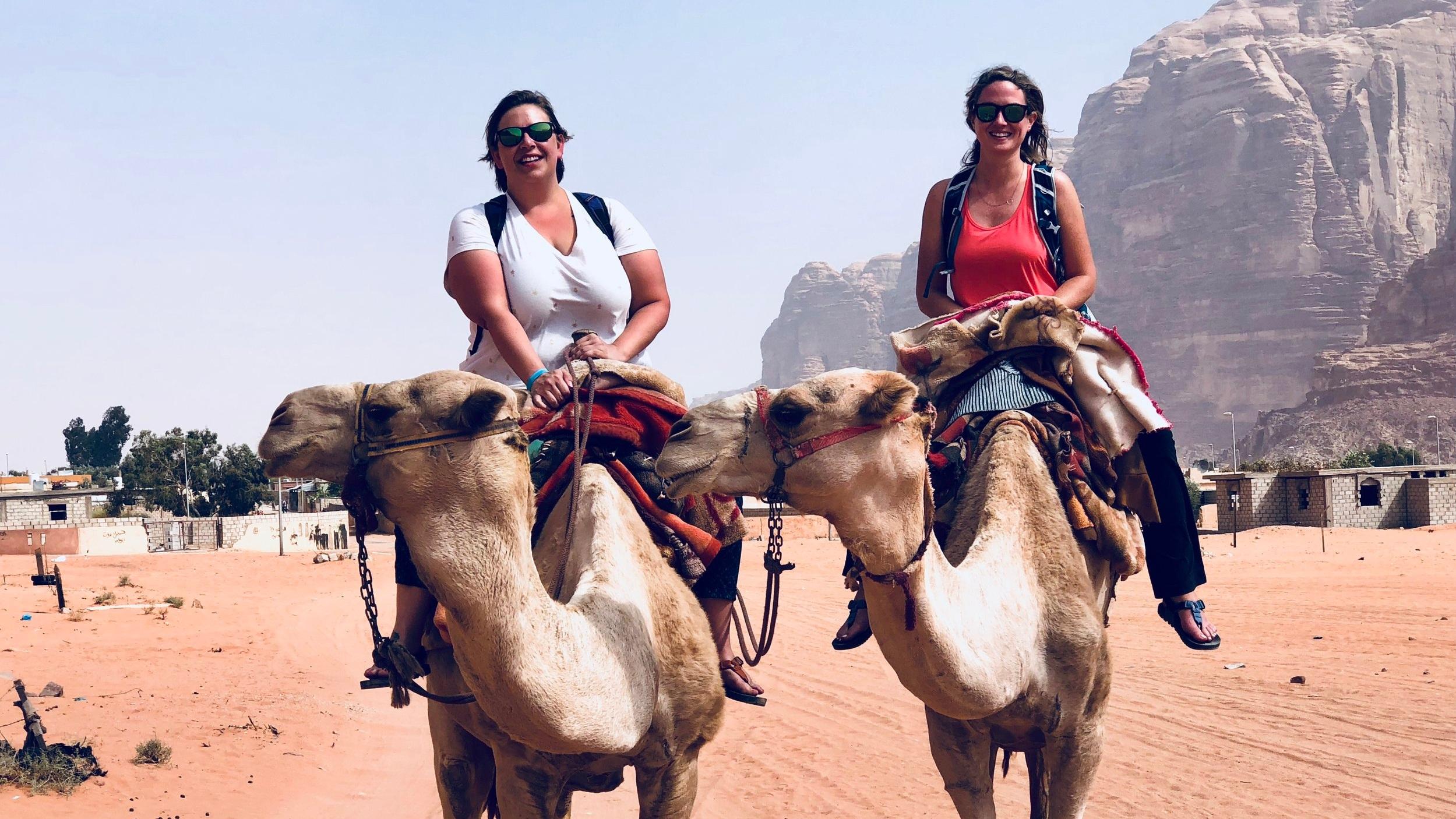 We went to Mars with my ride or die!  Wadi Rum, Jordan