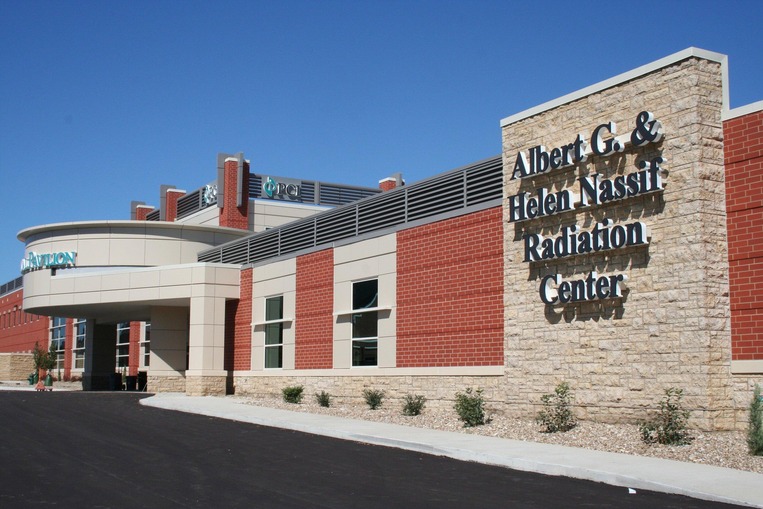 Albert G. and Helen Nassif Radiation Center.jpg