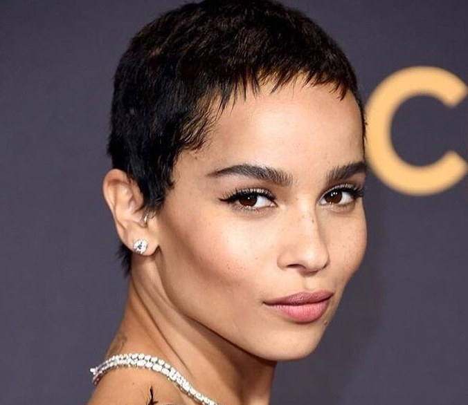 W Magazine   The Secret to a Red Carpet-Ready Pixie Cut, Courtesy of Zoë Kravitz's Hairstylist