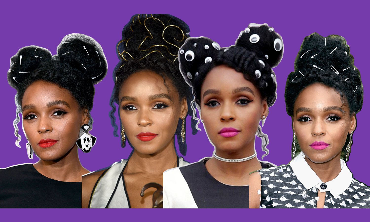NYLON   This Is The Stylist Behind Janelle Monáe's Best Hair Looks