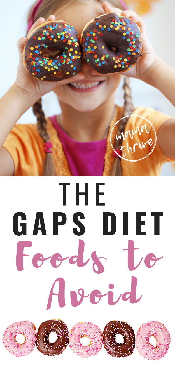 Are you confused about what foods you can't eat on the GAPS Diet? No worries! Here is a full food list for beginners trying to make sense of what foods you need to avoid on the GAPS Nutrition Protocol. Have you finished the Intro Diet and want to know how to start? Here is the diet explained. #gaps #gapsdiet #gapsforbeginners #fullgaps