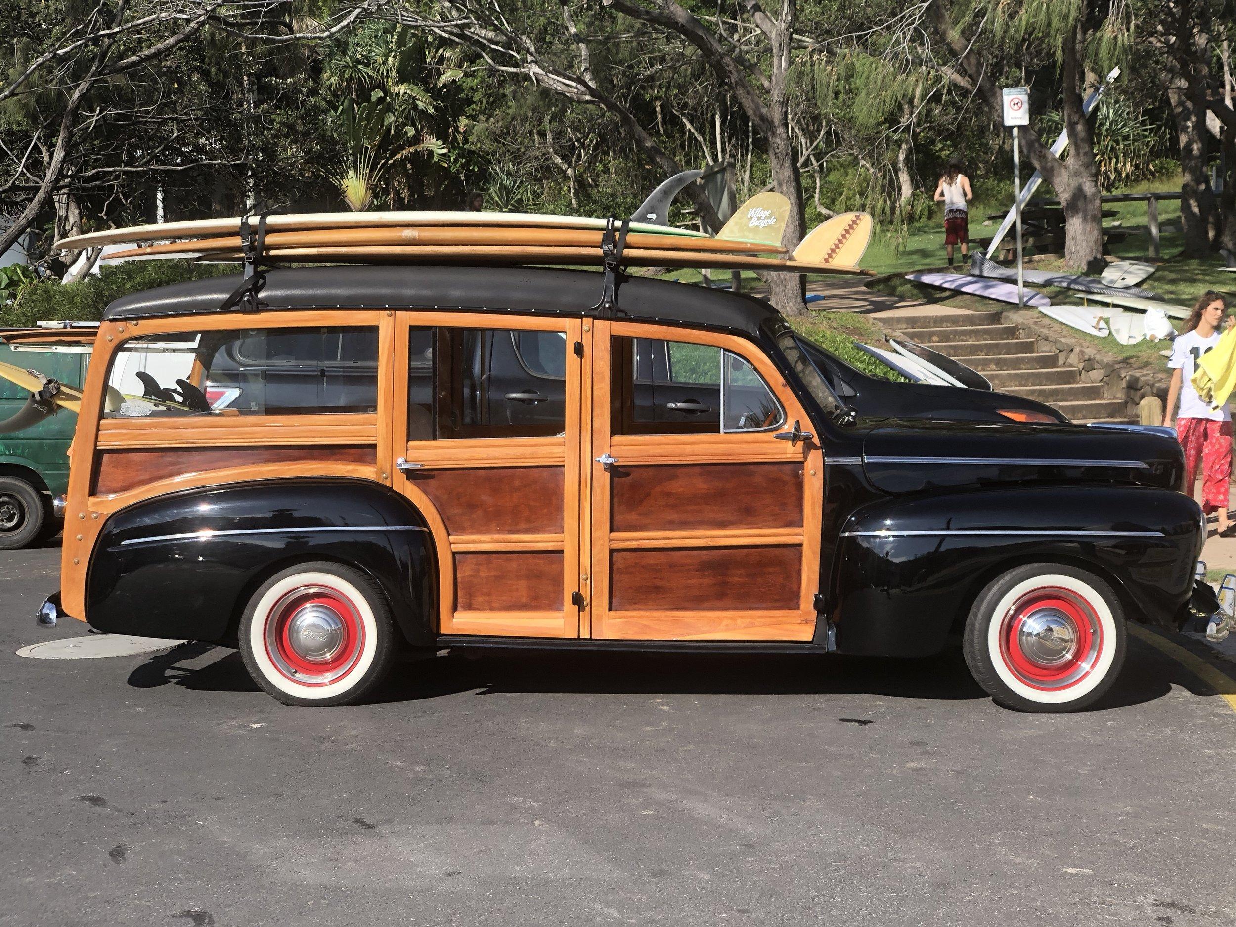 Beach Boys-esque wheels in Byron