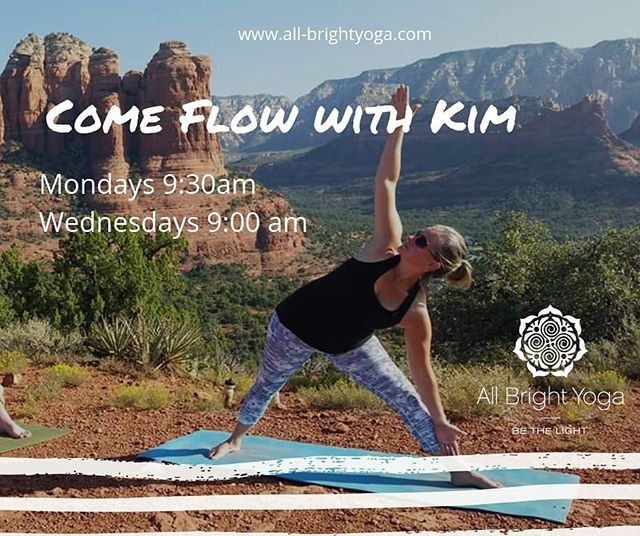 Don't miss yoga with Kim @kimicoco820