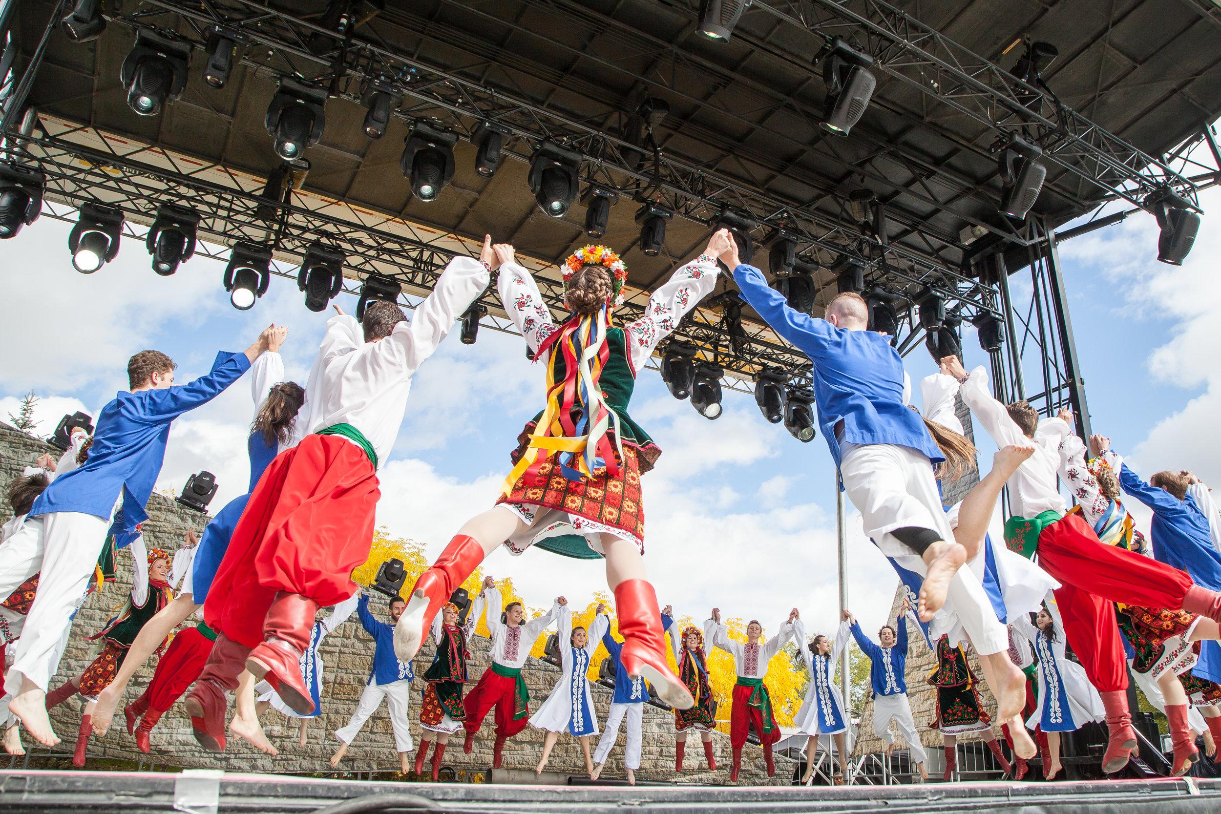 Chai Jewish Dance Ensemble & Rusalka Ukrainian Dance Ensemble