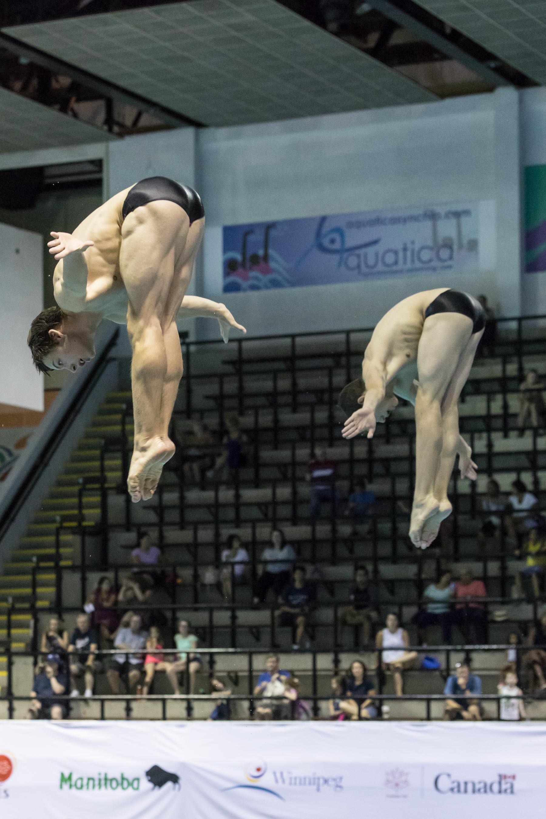 Canada Summer Games - Men's Diving