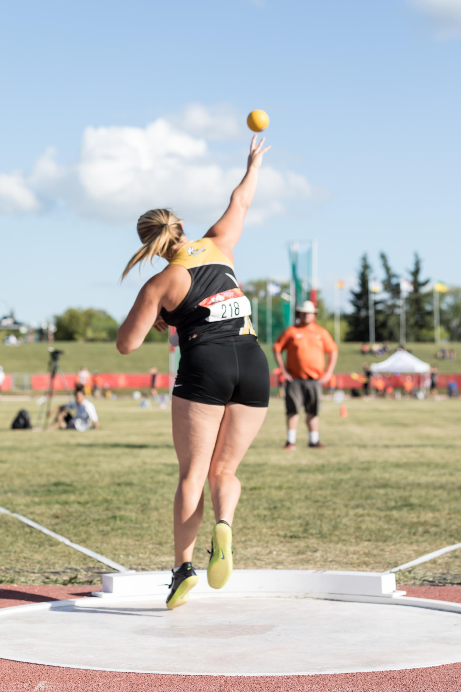 Canada Summer Games - Shot Put
