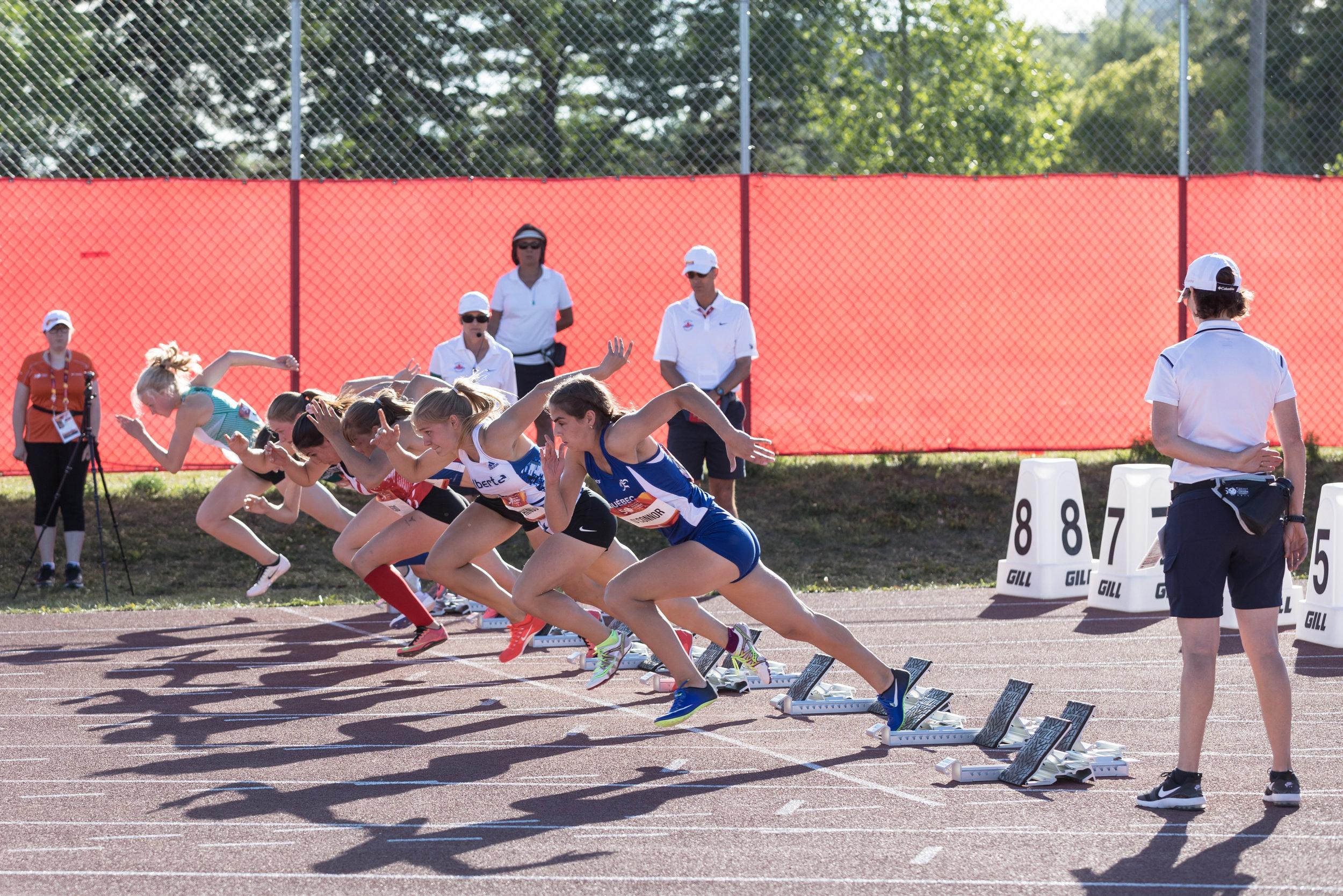 Canada Summer Games - Women's Hurdles