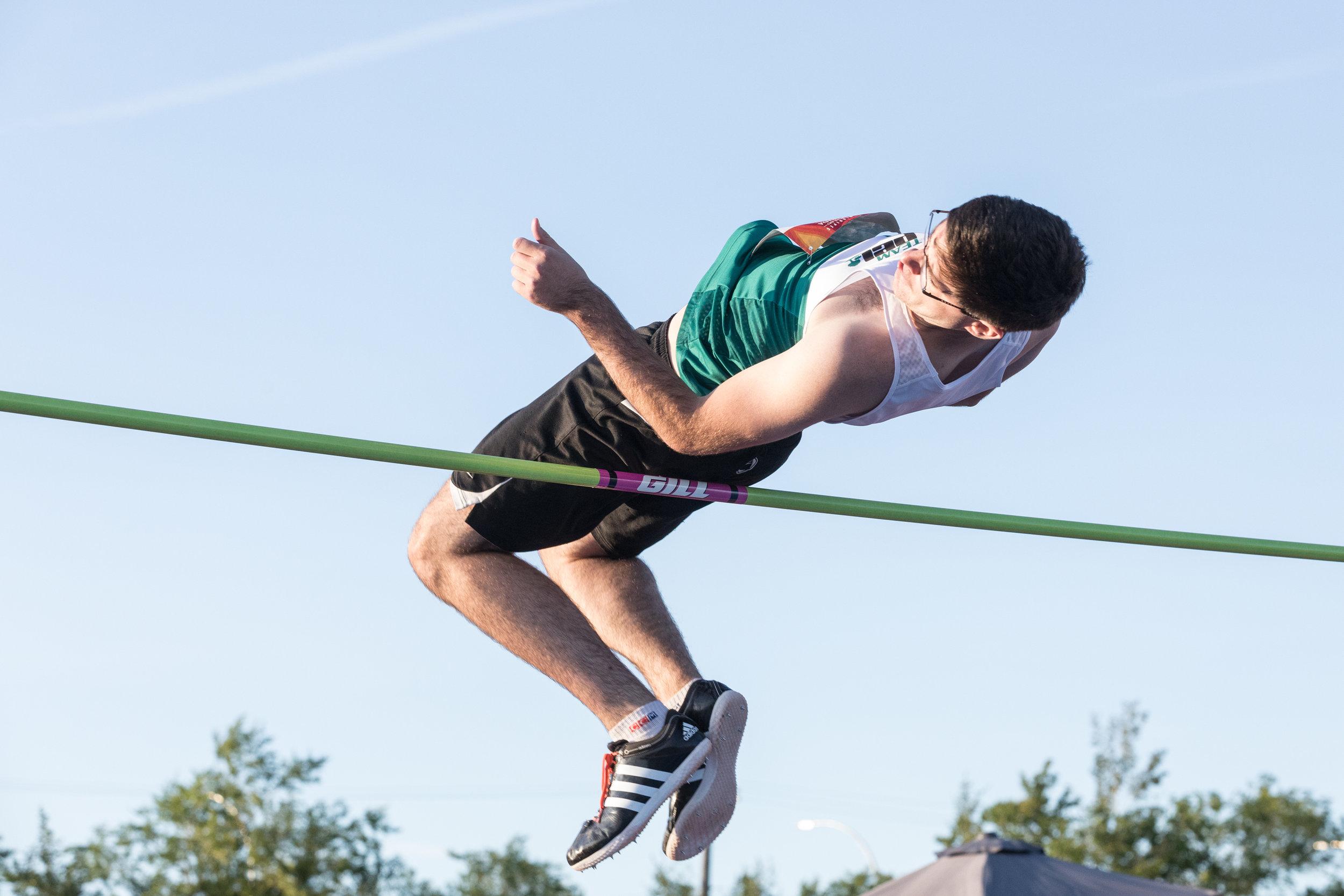 Canada Summer Games - High Jump