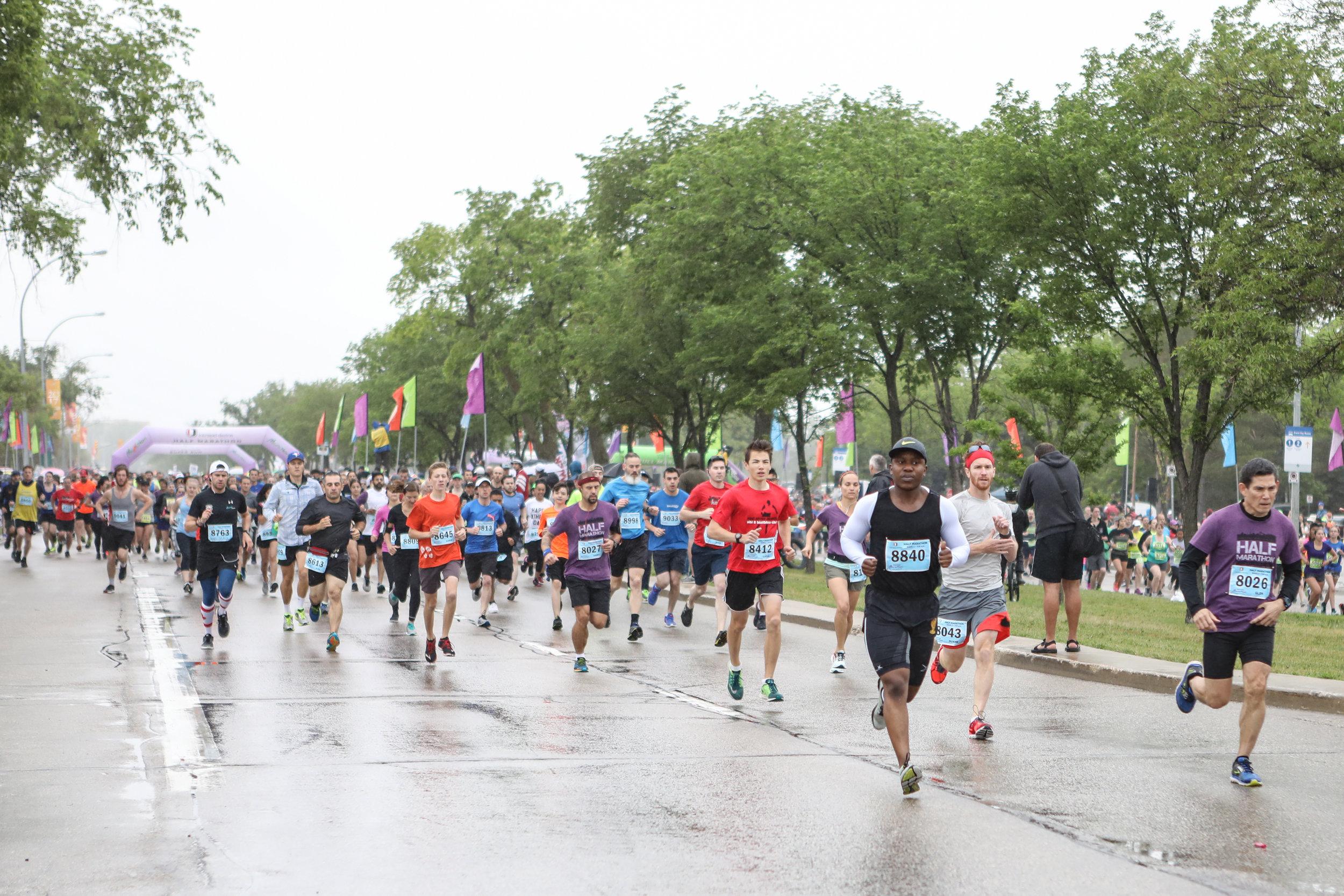 2017 Manitoba Marathon