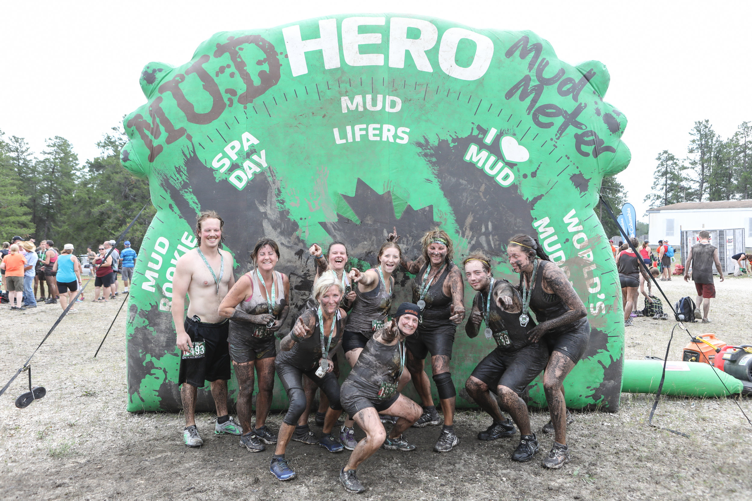 Mud Hero Obstacle Course