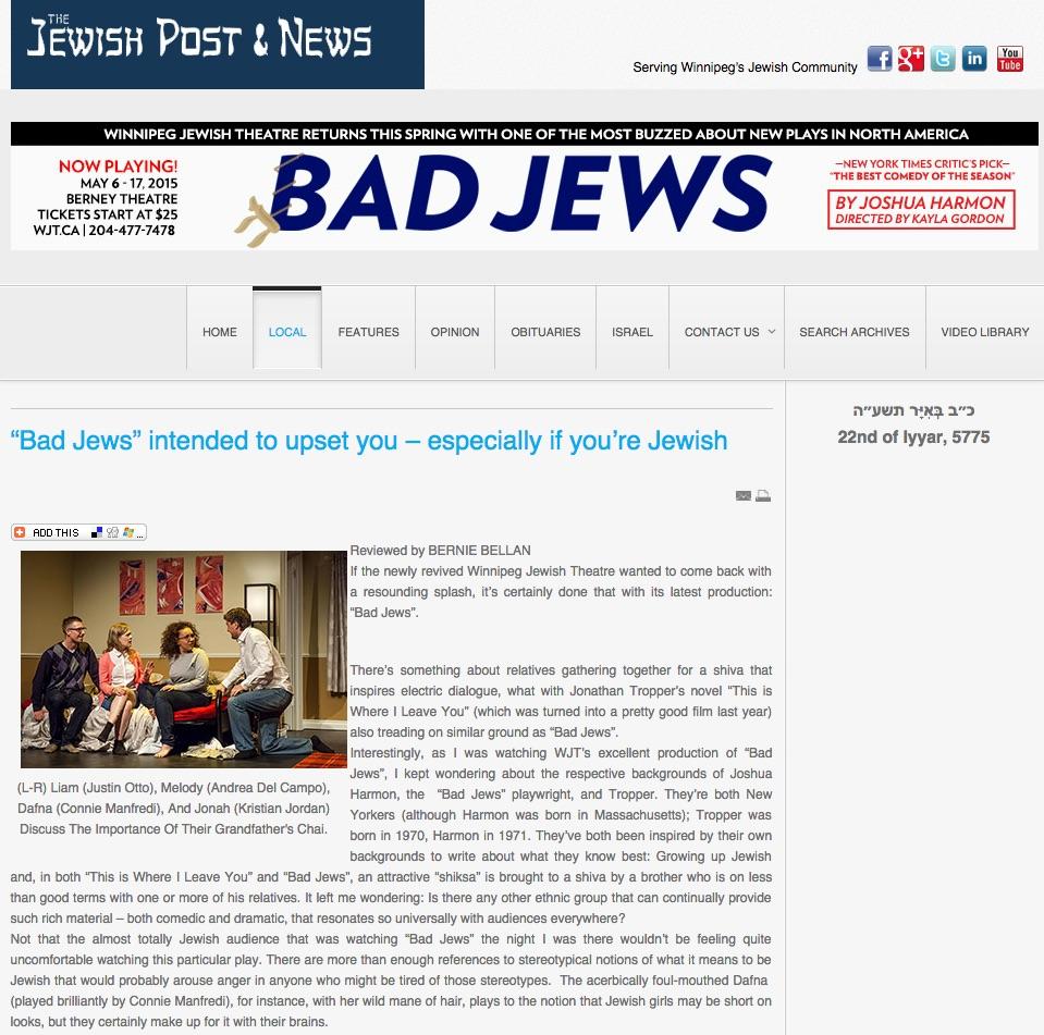 2015.05.10 - Winnipeg Jewish Post.jpg